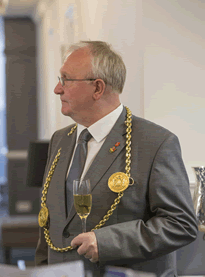 Mayor of South Tyneside Councillor Richard Porthouse officially opened The Clervaux.