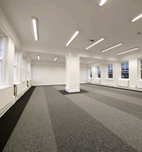 St Bede's One: One of our larger offices that can be open plan or partitioned as required.